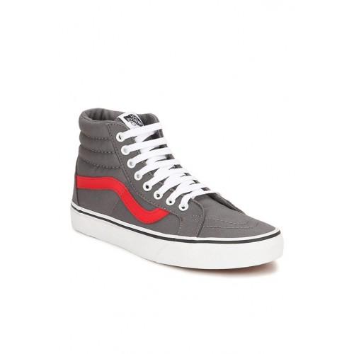 d1a409d633efa0 Buy Vans Classics Sk8-hi Reissue Grey Ankle High Sneakers online ...