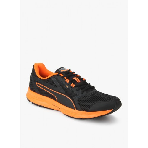 Buy Puma Essential Runner Idp Black Running Shoes online  3139a3bfa