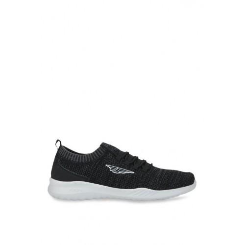Red Tape Athleisure Black Walking & Running Shoes