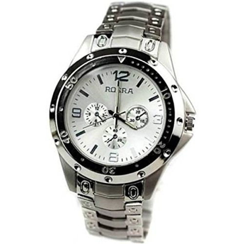 Generic Chronograph Silver Dial Men's Watch (St-Wd)