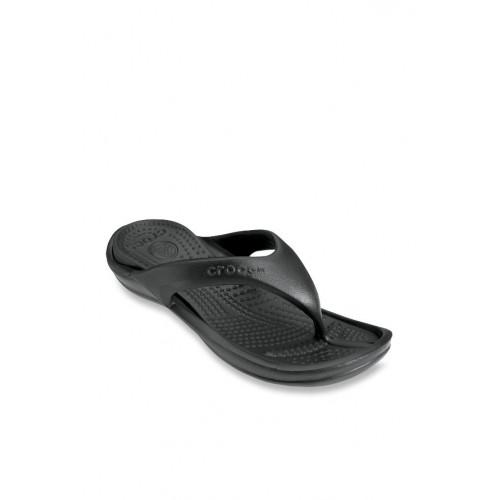 2be898f09d522 Buy Crocs Athens II Black Flip Flops online