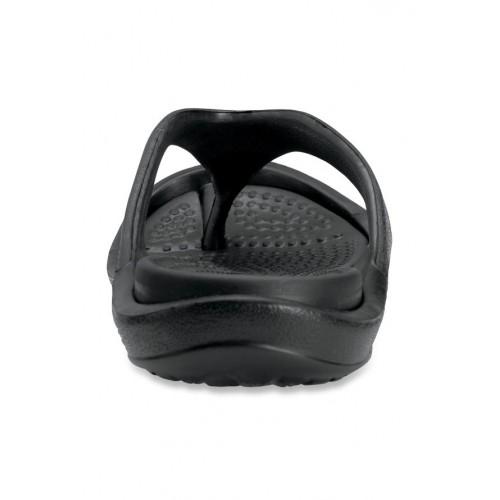 2c39826413a9 Buy Crocs Athens II Black Flip Flops online