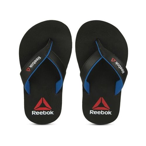 Reebok Advent Black & Blue Flip Flops