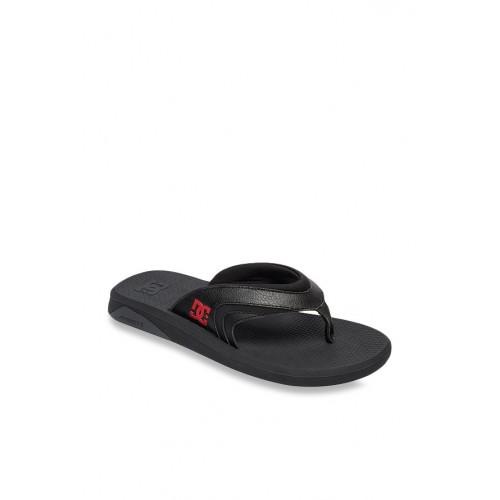 1db8e7f18346 Buy DC Recoil Charcoal Black Flip Flops online