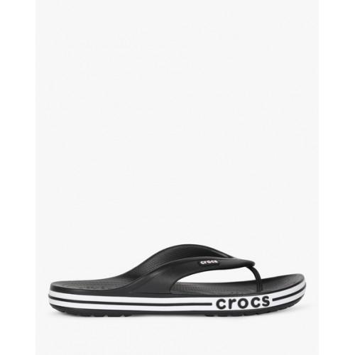add44befbf9 Buy Crocs Bayaband Black Flip Flops online