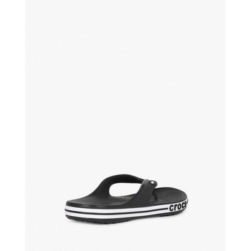 Crocs Bayaband Black Flip Flops