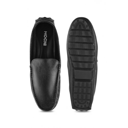 Buy Mochi Black Casual Loafers online
