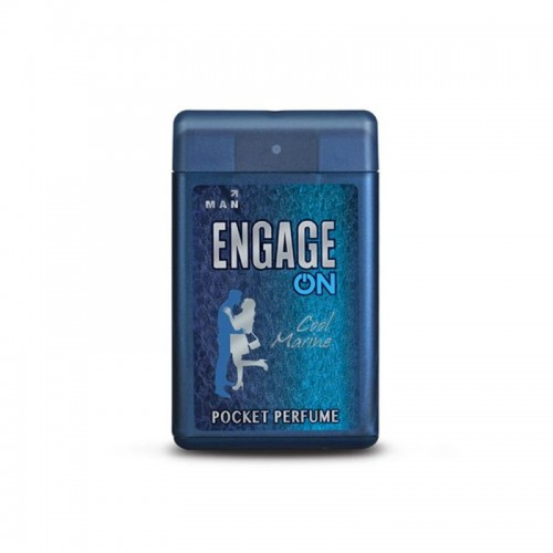 Engage On Men Cool Marine Pocket Perfume