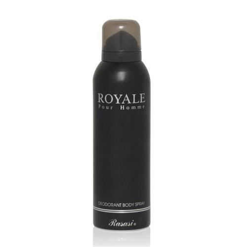 Rasasi Royale Pour Homme Deodorant Body Spray for Men, 200ml