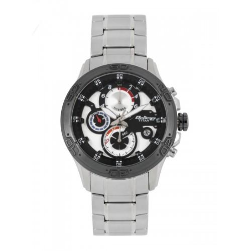 84f8c8d1bc ... Titan Octane Men Silver-Toned Dial Chronograph Watch 90047KM01J ...
