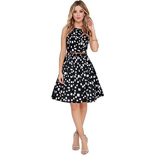 04d5929395e2 Buy Black Frock Party wear one Piece Dress online
