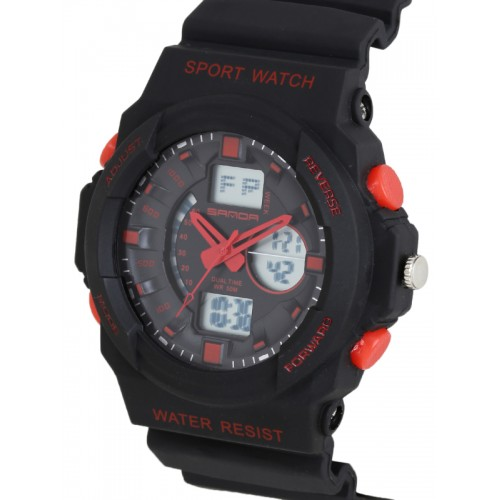 71e7a2b114be71 Buy SANDA Men Black Multifunction Analogue   Digital Watch S241BKRD ...