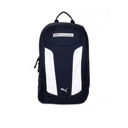 ... Puma Unisex Blue   White Colourblocked BMW Motorsport Backpack ... 5517bfc0e7096