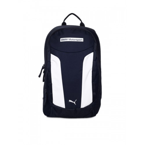 c15b8894b8 ... Puma Unisex Blue   White Colourblocked BMW Motorsport Backpack ...