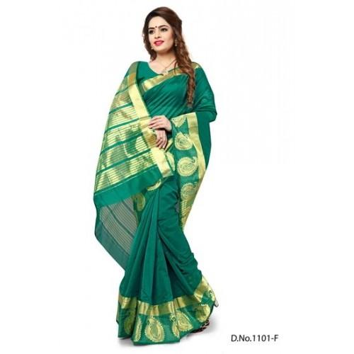 b3ea04a53aab63 Indian Fashionista Ethnic Party Wear Designer Banarasi Silk Weaving Saree  Top Dyed For Women