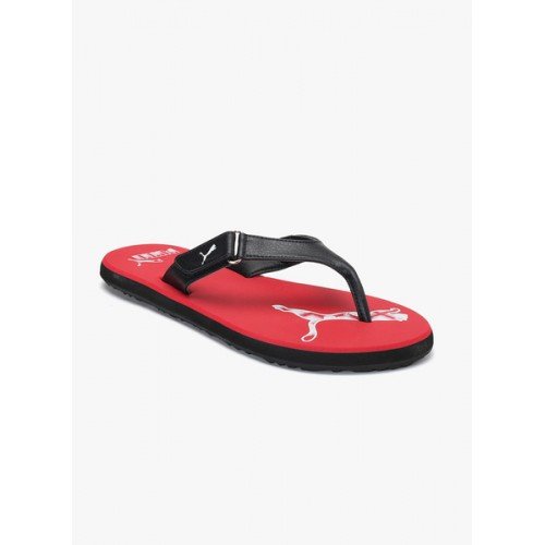 14d9966090d Buy Puma Puma Men Red   Black Breeze 2 NG IDP Flip-Flops online ...