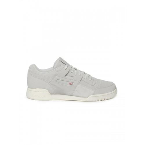 851aa510cb3d Buy Reebok Classic Men Grey WORKOUT PLUS MCC Suede Sneakers online ...