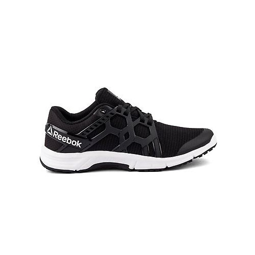 Buy Reebok Mens Original Gusto Run Runner Black Casual Sports Shoes ... 09c43c8ab
