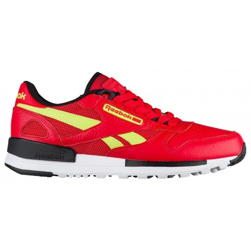 9311c530a7d ...  BS9445  MEN S REEBOK CLASSIC LEATHER 2.0 PRIMAL RED   BLACK-YELLOW  VINTAGE ...