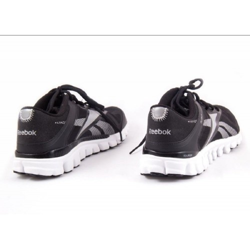 bfda75563a82a2 Reebok Men s REALFLEX TRANSITION NEW AUTHENTIC Black Silver J90575 ...