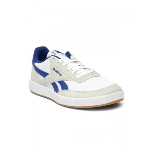 Buy Reebok Classic Men Off-White Royal Bonoco Sneakers online ... 952294f02