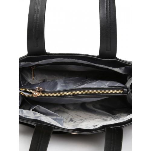 Buy U.S. Polo Assn. Women Black Solid Shoulder Bag online  dcb4ecee86d08