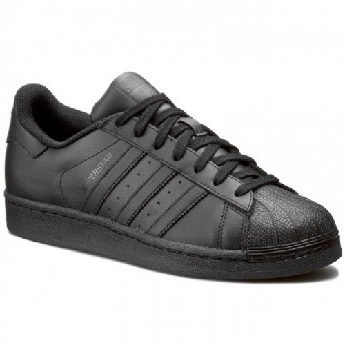 Inactividad suave fútbol americano  Buy Adidas Originals Superstar Foundation All Black AF5666 Leather Men Shoes  online | Looksgud.in
