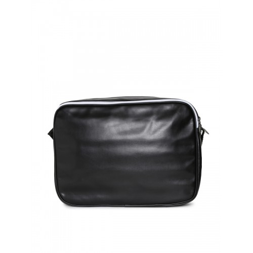 Buy Puma Unisex Black Solid Messenger Bag online  2d31572f820e4