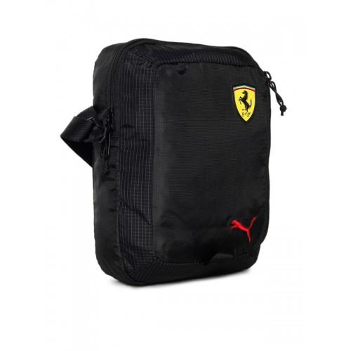 534836e8c447 Buy Puma Unisex Red Scuderia Ferrari Fanwear Portable Messenger Bag ...