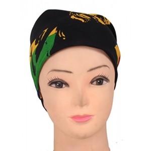 Jstarmart Headwrap With Orange Golf Cap