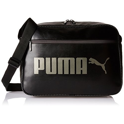 Buy Puma Polyester 12 Ltrs Black Messenger Bag (7453401) online ... ca8c8053bc7e1
