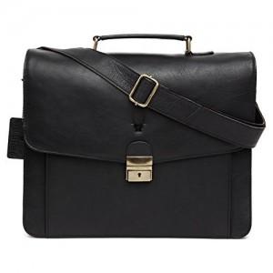 WildHorn Urban Edge 100% Genuine Leather 15.5 INCH Laptop Messenger Bag