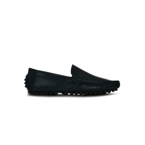 KIELZ blue leatherette slip on loafer