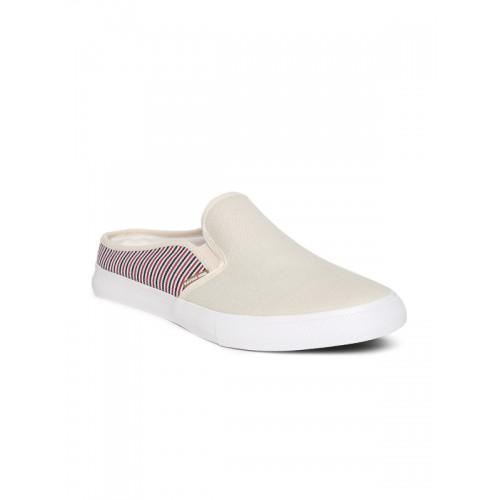 9a2d091f88d Buy U.S. Polo Assn. Men Off-White Tanz Slip-On Sneakers online ...