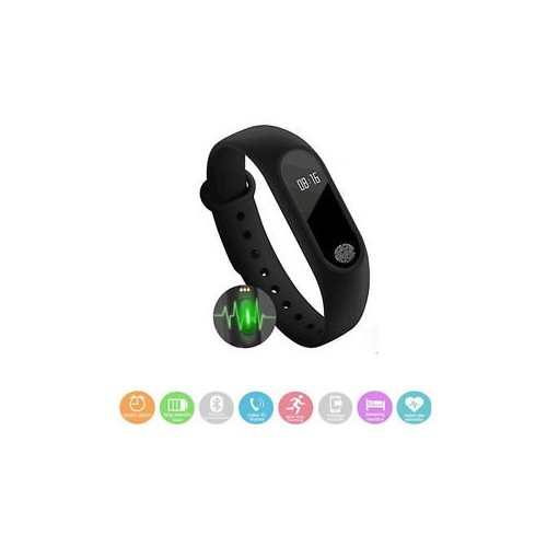 7fe07fd1e52 Buy Bingo M2 Black Fitness Smart Band online