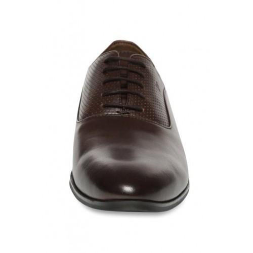 8b6d8d58a0a Buy Van Heusen Dark Brown Oxford Shoes online