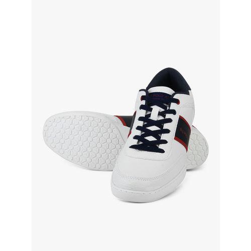 U.S. Polo Assn. Men White Lander Sneakers