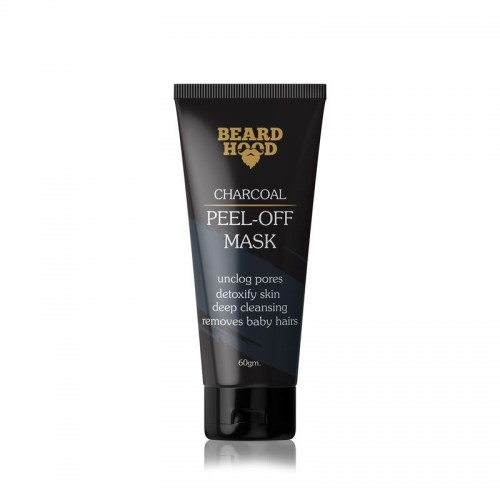 Beardhood Charcoal Peel Off Mask,60 g