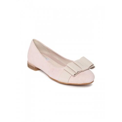 14cb6fbbca Buy Clarks Women Dusty Pink Suede Ballerinas online | Looksgud.in