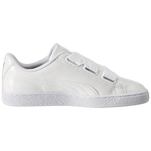 Puma Women's Basket Heart Patent Sneakers