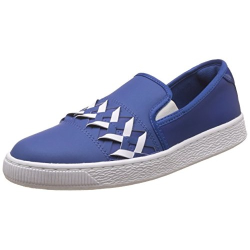 c3b5c979e81 Buy Puma Women s Basket Slip On Cut Out WN s Leather Sneakers online ...