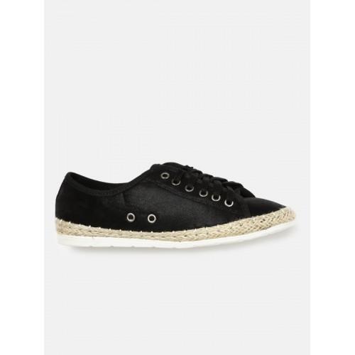 DressBerry Women Black Sneakers