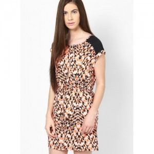 Only Multicoloured Colored Printed Shift Dress