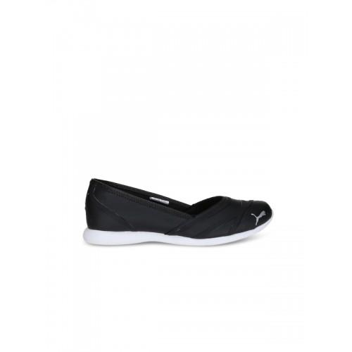 7d54567a4c2 Buy Puma Women Black Vega Ballet SL IDP Slip-On Sneakers online ...