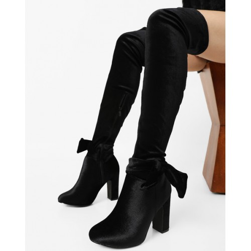 Truffle collection Over-The-Knee Boots