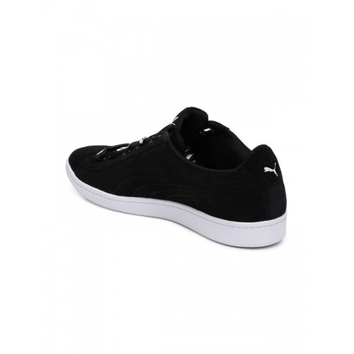 Buy Puma Women Black Vikky Ribbon Bold Sneakers online  be8b7fc10