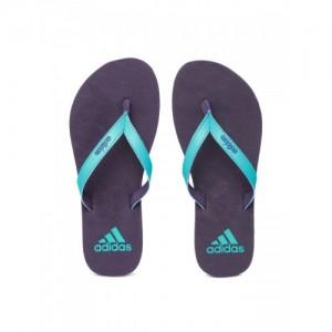 c5b1a3c09731 Adidas Women Blue   Purple PUKA Textured Thong Flip-Flops