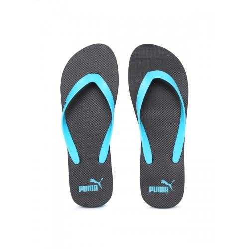 a360a0167d9167 Buy Puma Men Blue   Black Odius DP Flip-Flops online
