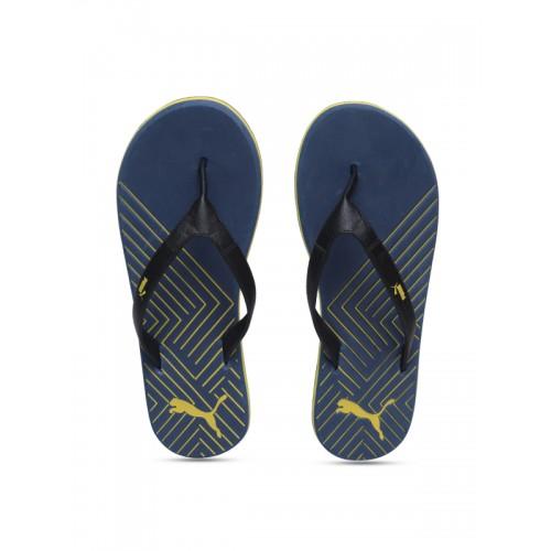 Buy Puma Unisex Blue Printed Thong Flip-Flops online  1daf228b1