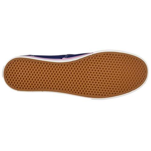 Vans Blue Canvas Lace Up Sneakers